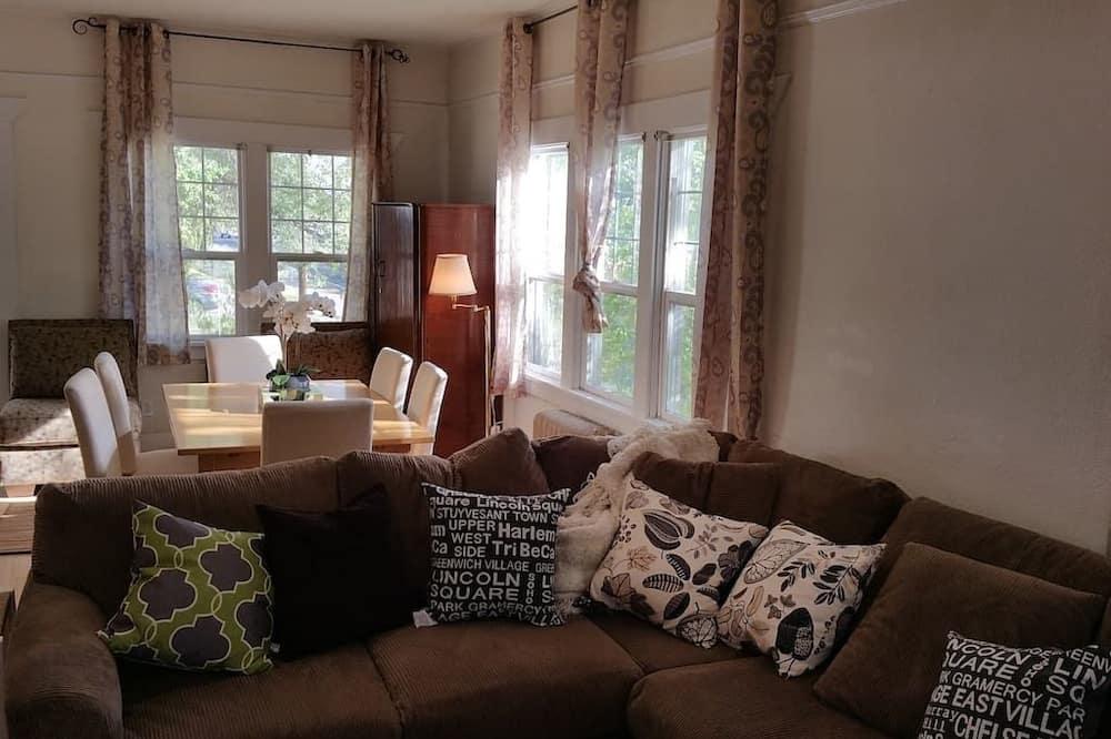 Maison, plusieurs lits - Coin séjour