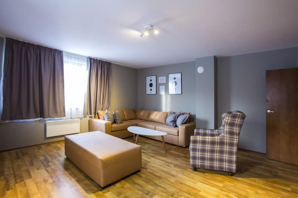 Apartamento Tradicional, 3 Quartos - Área de Estar