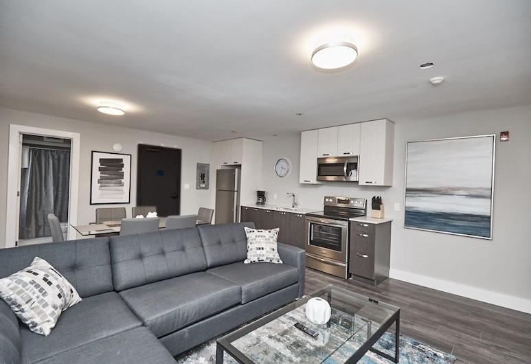 Clifton Hill Condo's, Niagara Falls, Condo, 2 Bedrooms (402), Living Area