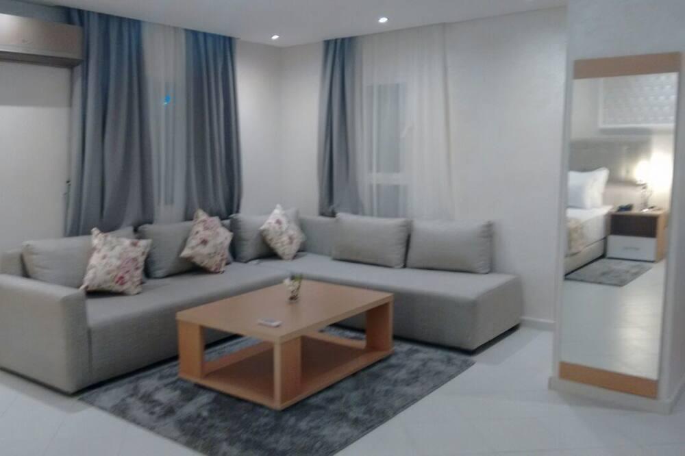 Junior-Suite, Raucher, Gartenblick - Zimmer