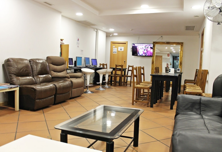 Galaxy Star Hostel Barcelona, Barcelona, Área de estar (saguão)