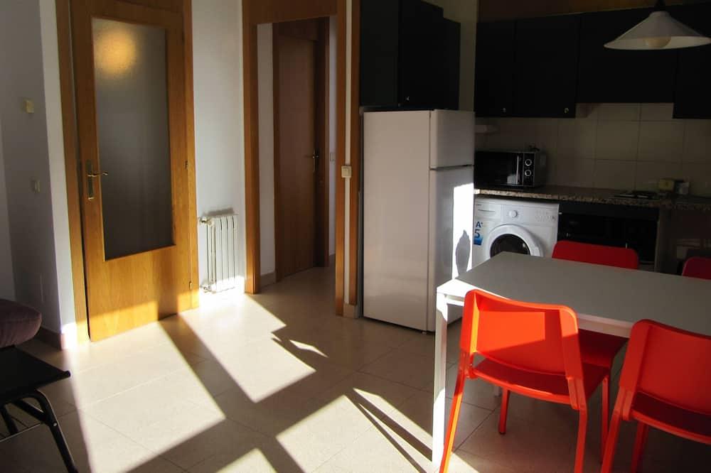 Apartamento, 1 habitación, vistas a la montaña - Comida en la habitación