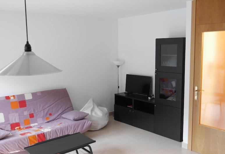 Vitivola Betania 2/4, Encamp, Apartment, 1 Schlafzimmer, Bergblick, Wohnzimmer