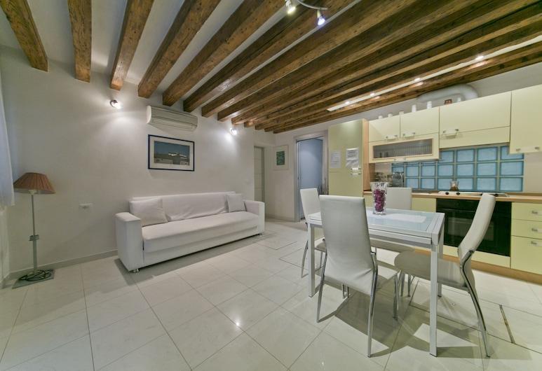 Romantico Cannaregio, Benátky, Apartmán typu Superior, Obývací prostor