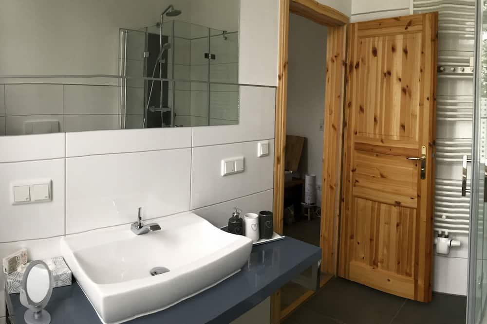 Appart'hôtel, salle de bains privée (bis zu 4 Personen) - Salle de bain
