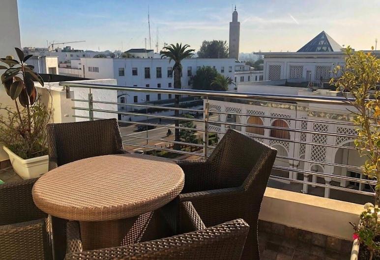 Hôtel Le Musée, Rabat, Terrasse/veranda