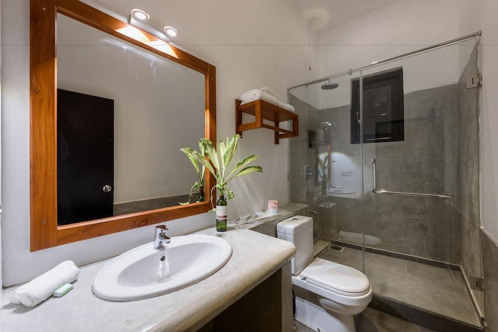 Dvojlôžková izba typu Comfort, bezbariérová izba - Kúpeľňa