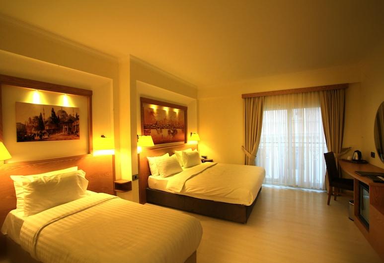 Molton Beyoglu MLS Hotel, Istanbul, Camera Superior, ad angolo, Camera