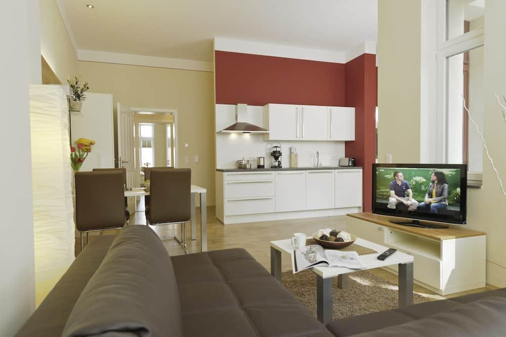 Apartamentai (29) - Svetainės zona