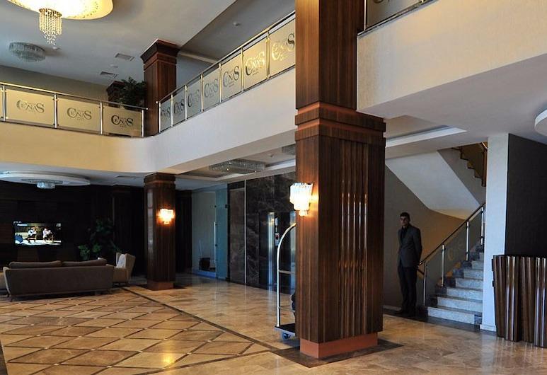 Grand Cenas Hotel, Agri, Hall