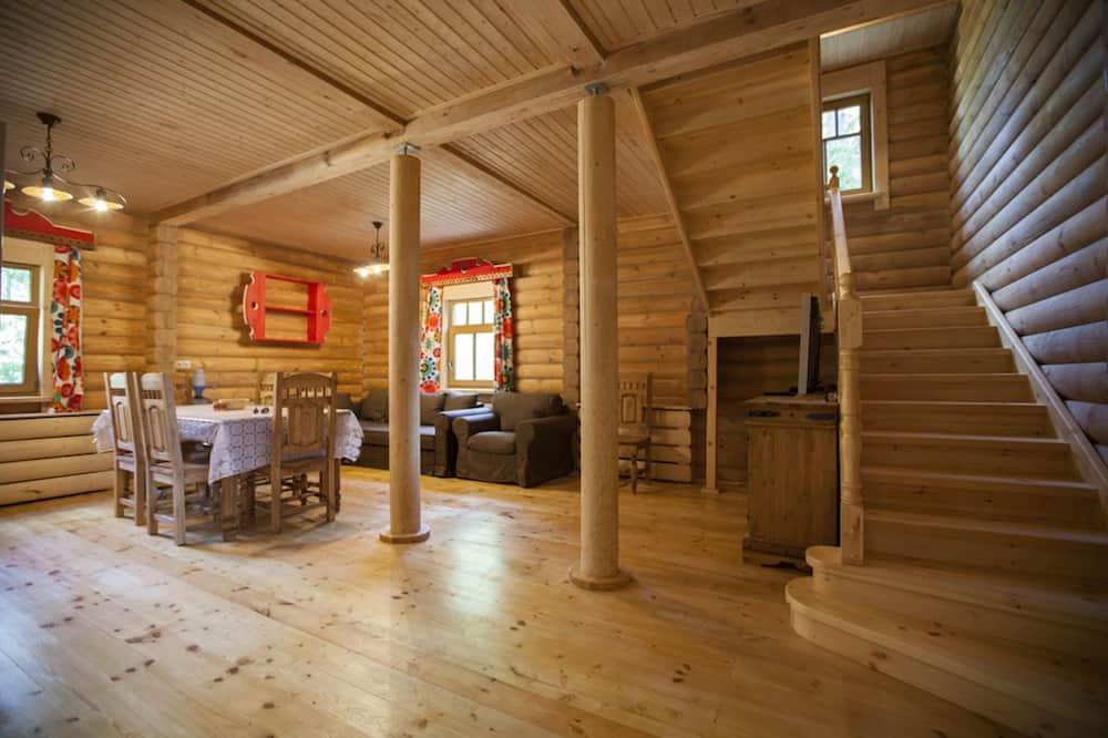 Cottage, 4 slaapkamers, sauna - Woonkamer