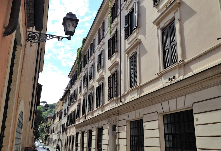 Casa in Trastevere, Rome, Front of property