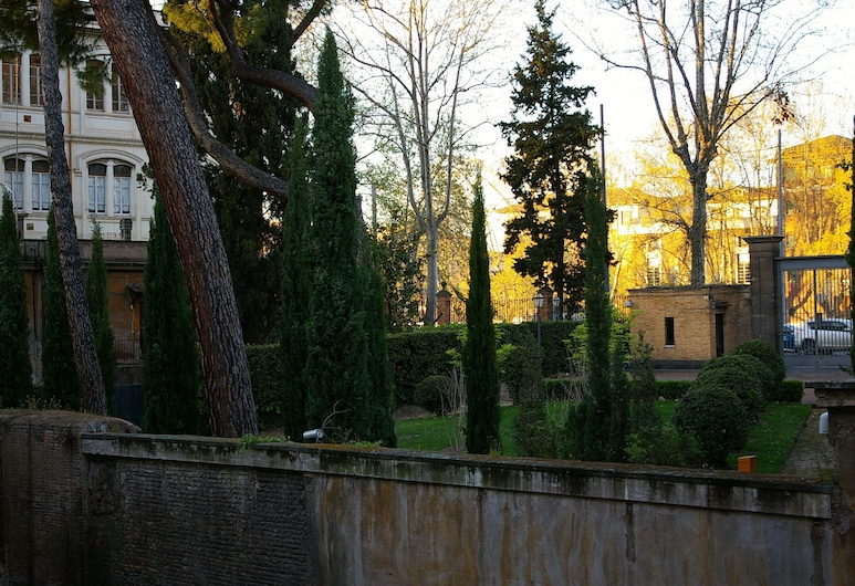 Casa in Trastevere, רומא, שטחי הנכס