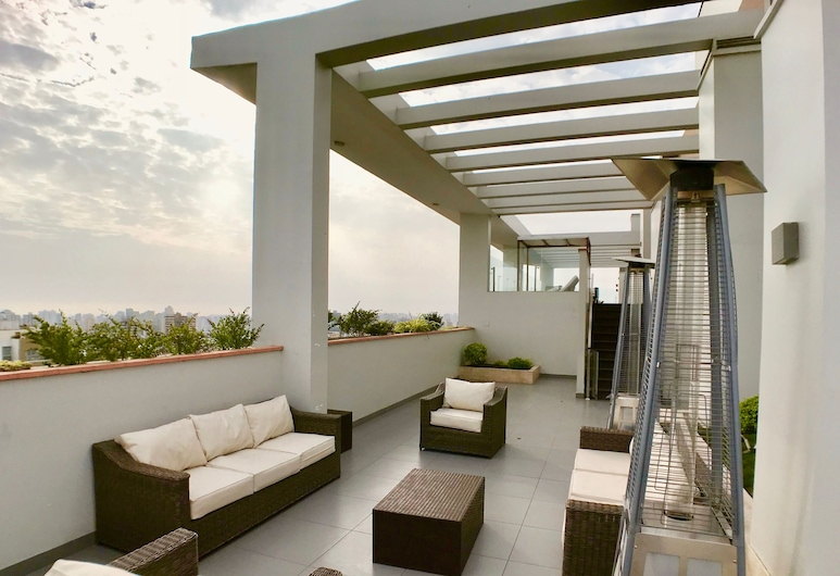 ALU Apartments - Limit with Miraflores, Lima, Family Apartment, 3 Bedrooms, Pool Access, City View, BBQ/Picnic Area