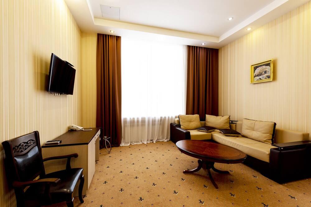 Suite de Luxo - Área de Estar