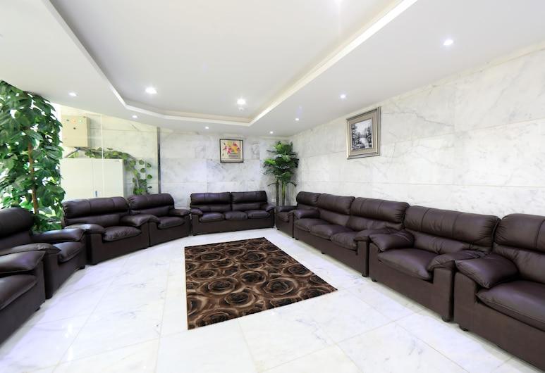 Snood Ajyad Hotel, Mecka, Sittområde i lobbyn