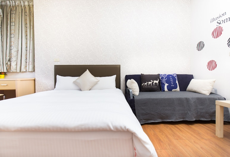 DayHouse, Taichung, Standard Double Room, 1 Double Bed, Guest Room
