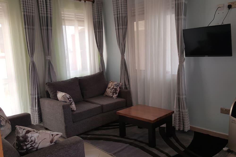Íbúð - Stofa