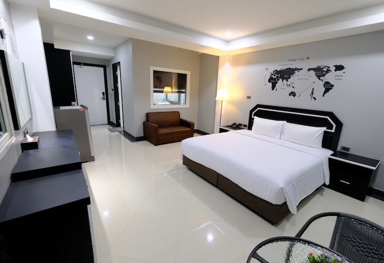 The Tung, Pattaya, Deluxe-Zimmer, Zimmer