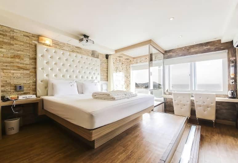 Songjeong 369 Hotel, Busan, Kamar Double Deluks, Kamar Tamu