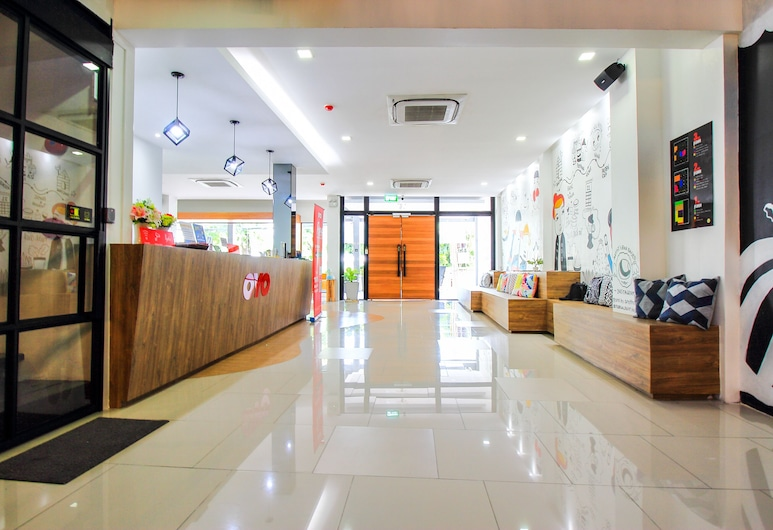 OYO 426 All Day Hostel, Bangkok, Posezení ve vstupní hale