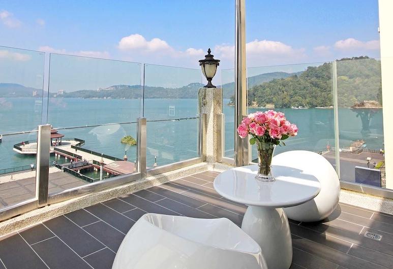 Shuian Lakeside Hotel, Yuchi, Quarto Signature, 2 camas de casal, Varanda, Terraço/Pátio Interior