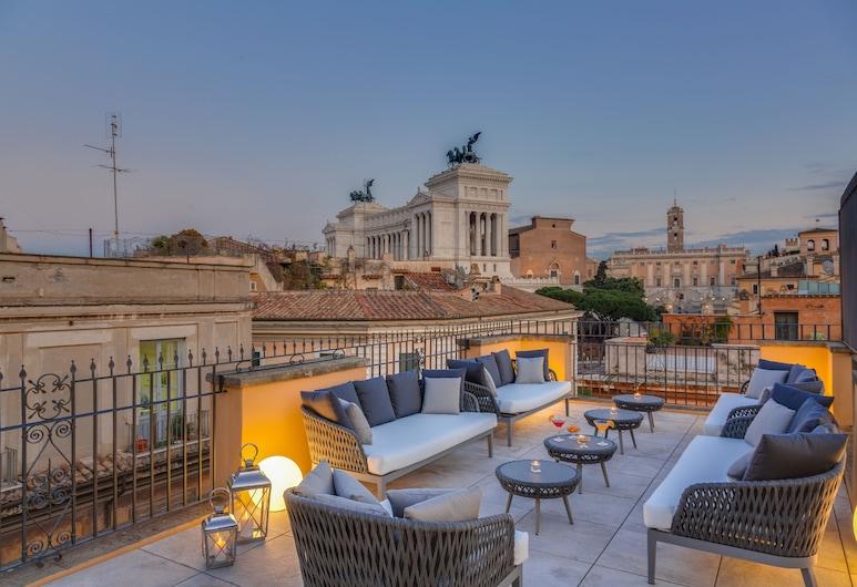 Otivm Hotel, Rom, Terrasse/Patio