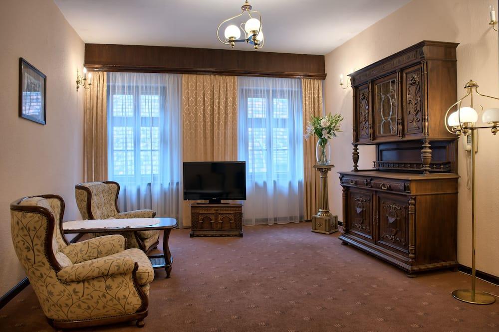 高級雙人房 - 客廳