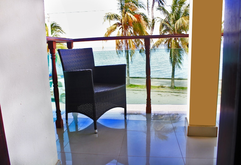 PLUXOTEL, Cap-Haitien, Standartinio tipo vienvietis kambarys, balkonas, vaizdas į jūrą, Balkonas