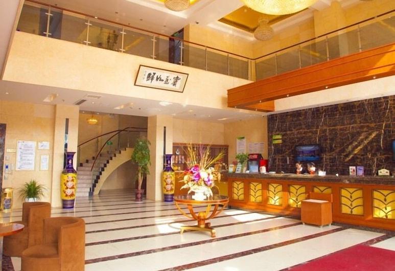 GreenTree Alliance Nantong Rugao Jiuhua Town Government Hotel, ננטונג, לובי