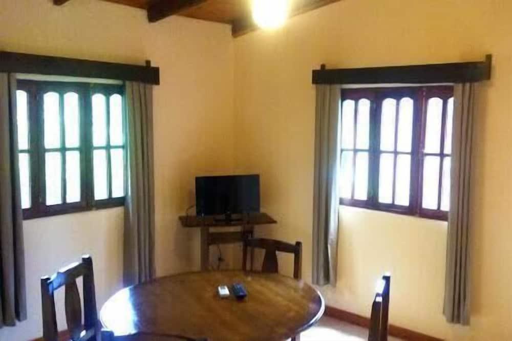 Standardhytte - 1 soveværelse - Spisning på værelset