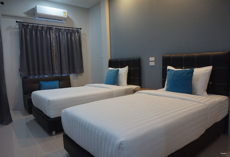 Chic Living Hotel, Ubon Ratchathani, Standard Twin Room, Guest Room