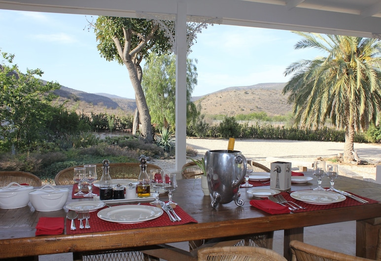 Koedoeskop Private Mountain Reserve, Blue Crane Route, Outdoor Dining