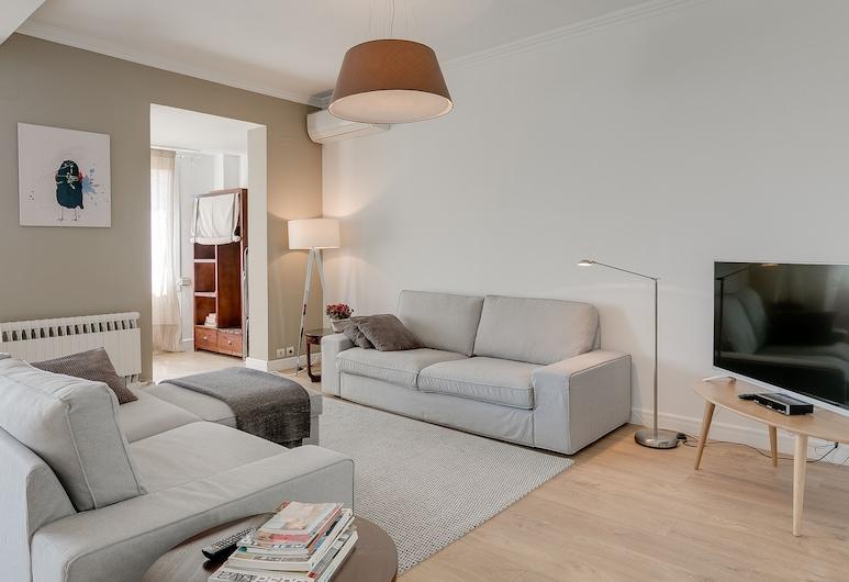 Look Barcelona Apartments, Barcelona, Apartamento superluxo, Sala