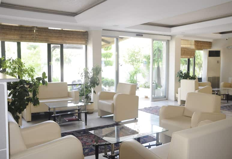 Afsin Hotel, Antalya, Sitzecke in der Lobby