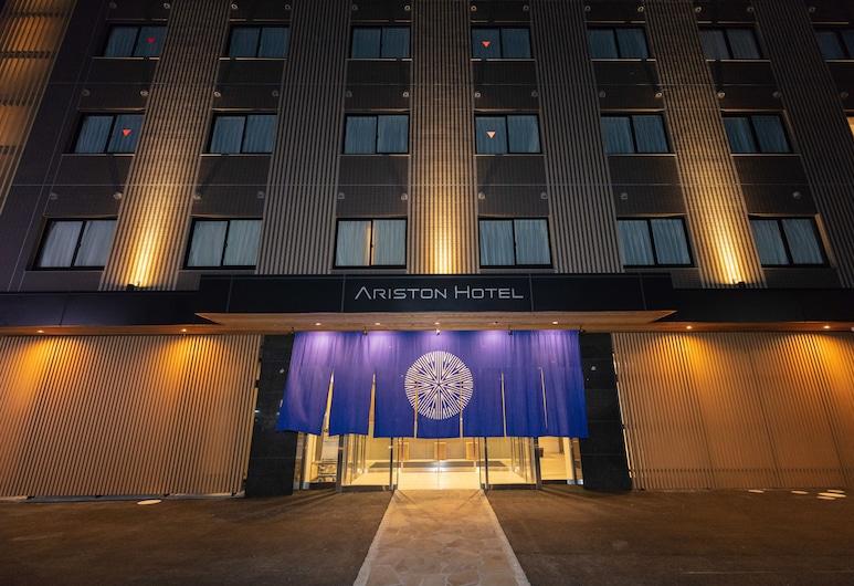 Ariston Hotel Kyoto Jujo, Kyoto, Pohľad na hotel – večer/v noci