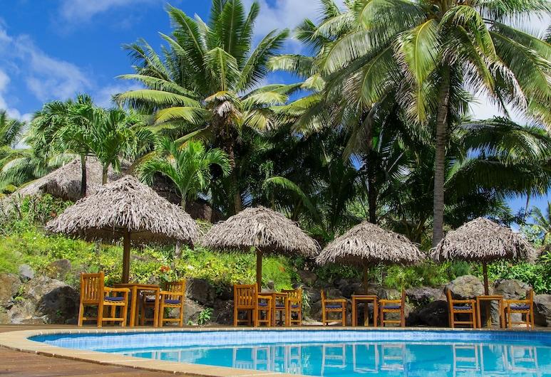 Etu Moana Boutique Beach Villas, Aitutaki, Utendørsbasseng