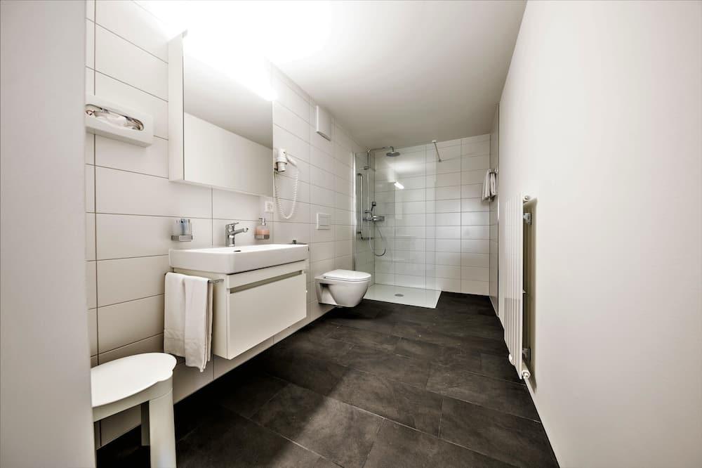 Superior Apart Daire, 1 Yatak Odası, Engellilere Uygun, Dağ Manzaralı - Banyo