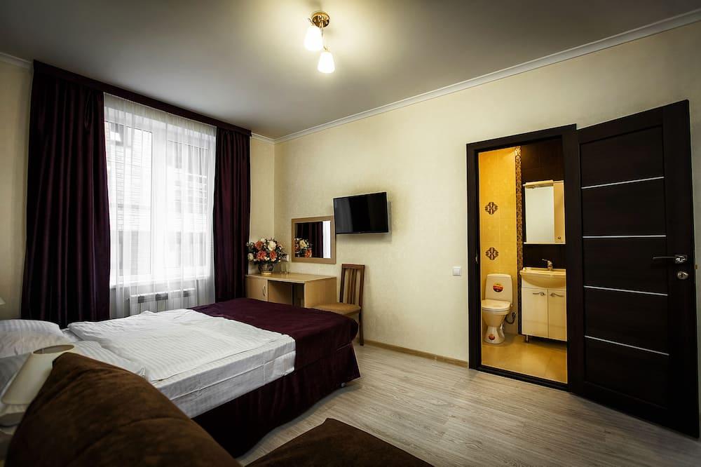 Pagerinto tipo dvivietis kambarys, 1 standartinė dvigulė lova ir 1 sofa-lova - Svečių kambarys