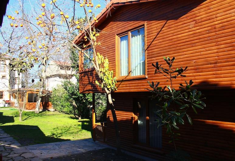Konak Beyzade Butik Otel & Bungalow, Sapanca, Bungalow, cheminée (Duplex), Terrasse/Patio