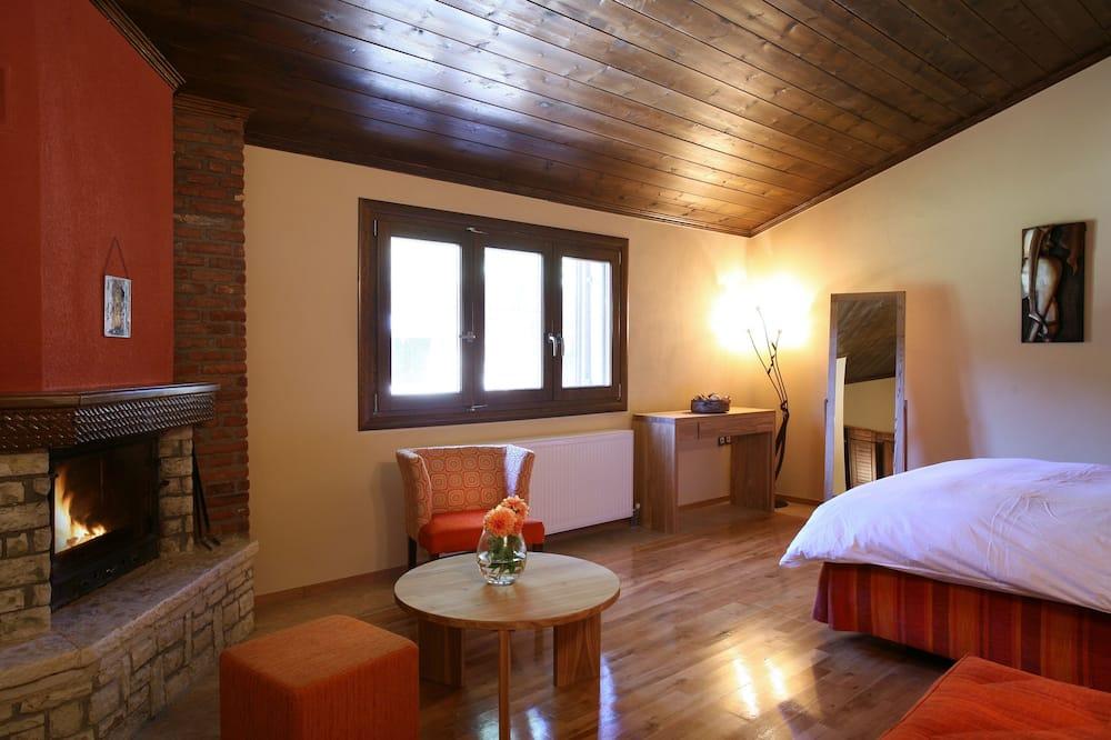Suite, Varanda, Vista Montanha - Área de Estar