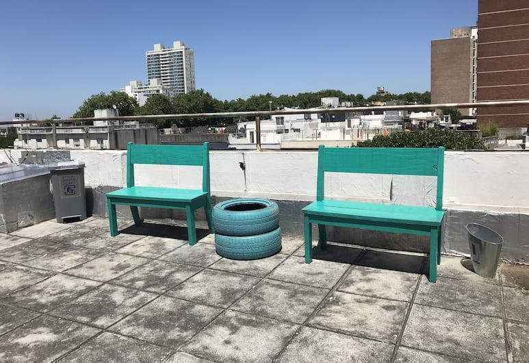 Students Hostel, Montevideo, Terrace/Patio