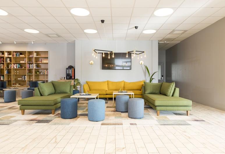 Karlskoga Hotell, คาร์ลสโกกา, บริเวณนั่งเล่นที่ล็อบบี้