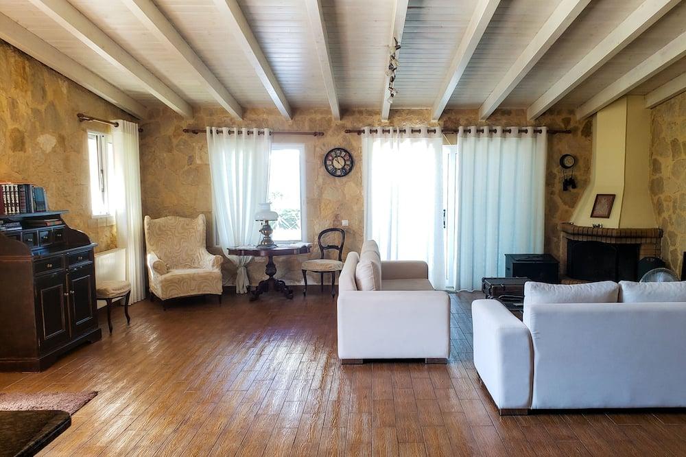 Superior Ev, 3 Yatak Odası, Deniz Manzaralı - Oturma Alanı