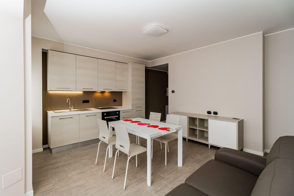 Huoneisto, 1 makuuhuone - Ruokailu omassa huoneessa