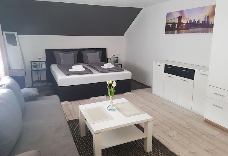 Hotel Ari, Kaiserslautern, Fjölskylduherbergi fyrir þrjá, Herbergi