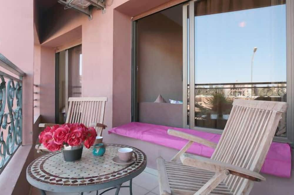 Apartament typu City - Balkon