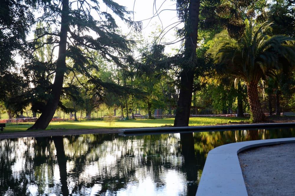 Premium-Suite, Parkblick - Blick auf den Park