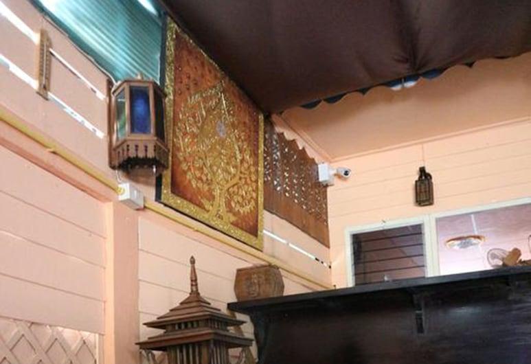 雅蓋普甜密之家飯店, 清邁, 櫃台