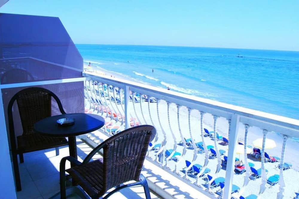 Divvietīgs numurs, skats uz jūru - Balkons